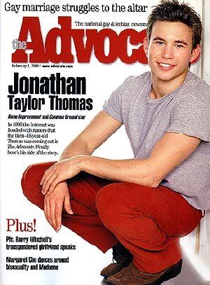 Jonathan taylor thomas gay