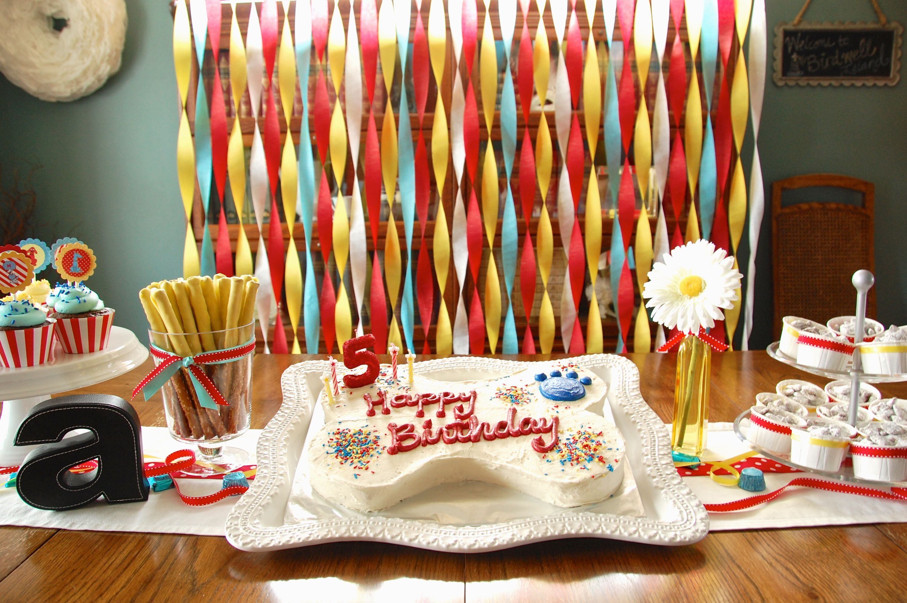 Clifford The Big Red Dog Birthday Party Cake Table For The Whittle