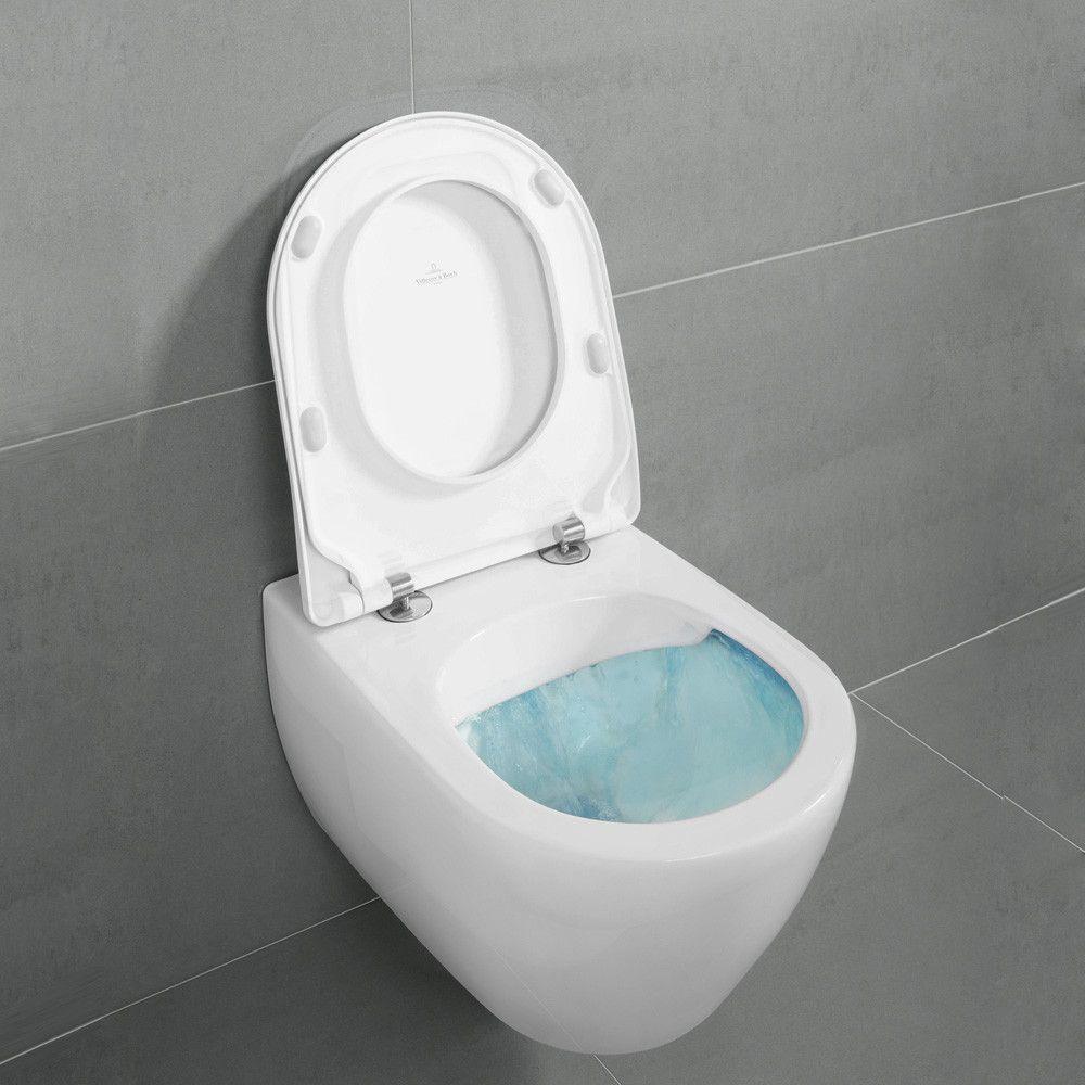 Villeroy Boch Subway 2 0 Wall Mounted Washdown Toilet Directflush L 56 W 37 Cm 5614r001 Villeroy Boch Toilet Wall Hung Toilet