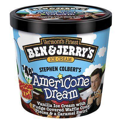 Ben Jerry S Stephen Colbert S Ice Cream Ben And Jerrys
