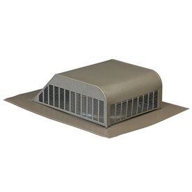 Air Vent Weatherwood Aluminum Slant Back Roof Louver Outdoor Ottoman Roof Ventilation