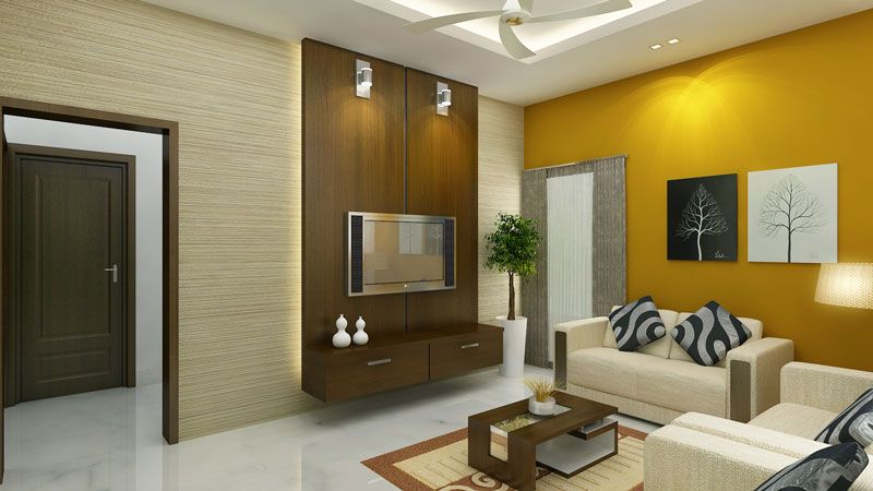 Interior Design Modern Indian House Living Room