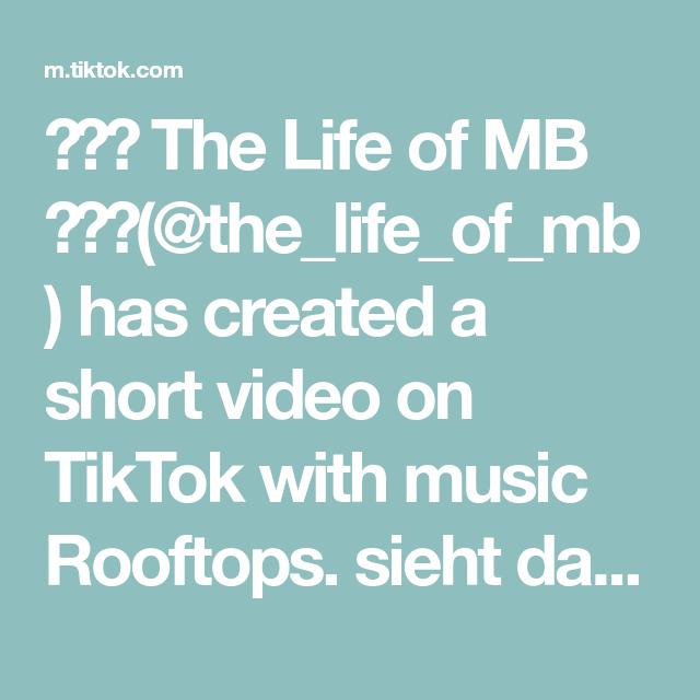 🙋♂️ The Life of MB 🙋♂️(@the_life_of_mb) has created a short video on TikTok with music Rooftops. sieht das nicht süss aus 🤣😂 meine Privat Frisörin (5 Jahre) hat mich schick gemacht. @sonjazahnen 👍 #frisörin #schickgemacht #haargummis #kids