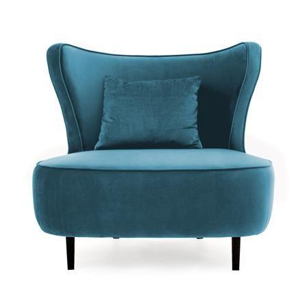 Douglas Love Seat Sky Blue Achica Chair Fabric Armchairs Furniture