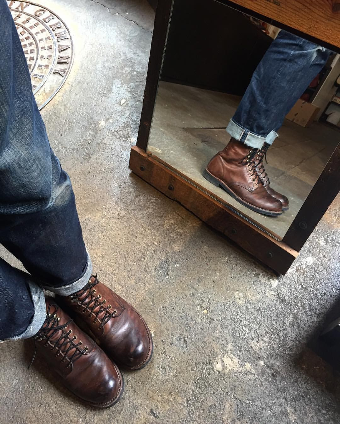 467c9d1f852 Red Wing 2943 Harvester | Vintage Leathers in 2019 | Barbour boots ...