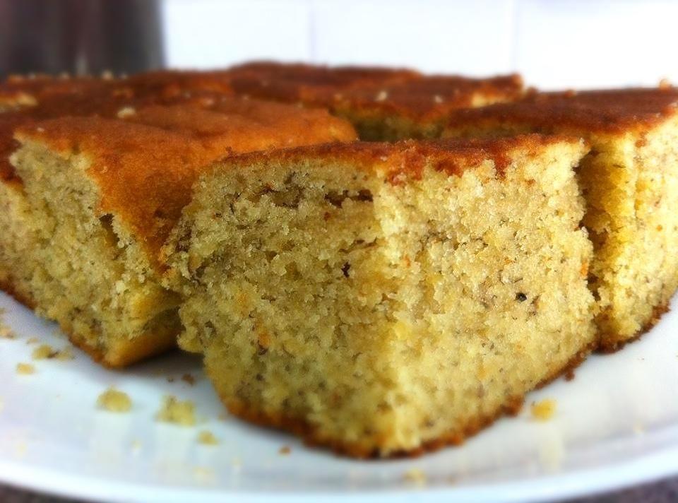Mom S Fresh Banana Cake Receita Com Imagens Bolo De Banana
