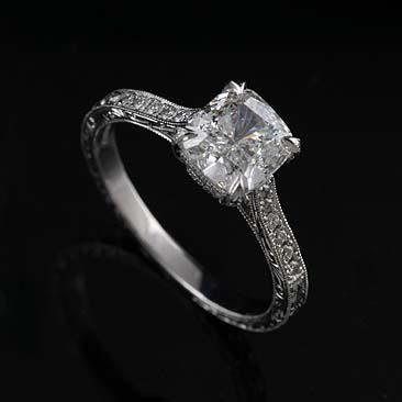 engagement honour platinum rox ring cut brilliant rings diamond
