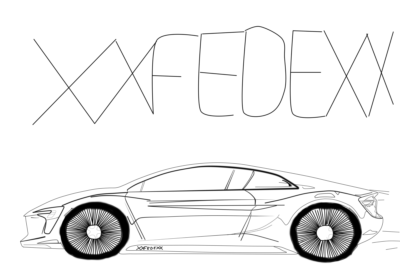 un Audi futurista   Mis dibujos de PC   Pinterest