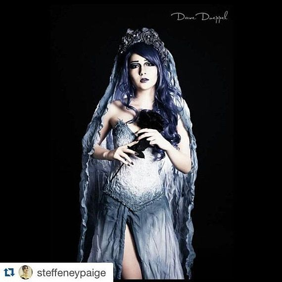 Corpse Bride Victoria Cosplay: Corpse Bride Cosplay Costume Halloween Special