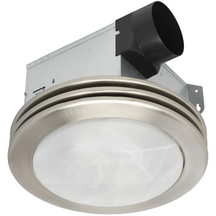 Utilitech Ventilation Fan 2 Sone 80 Cfm Brushed Nickel Bathroom