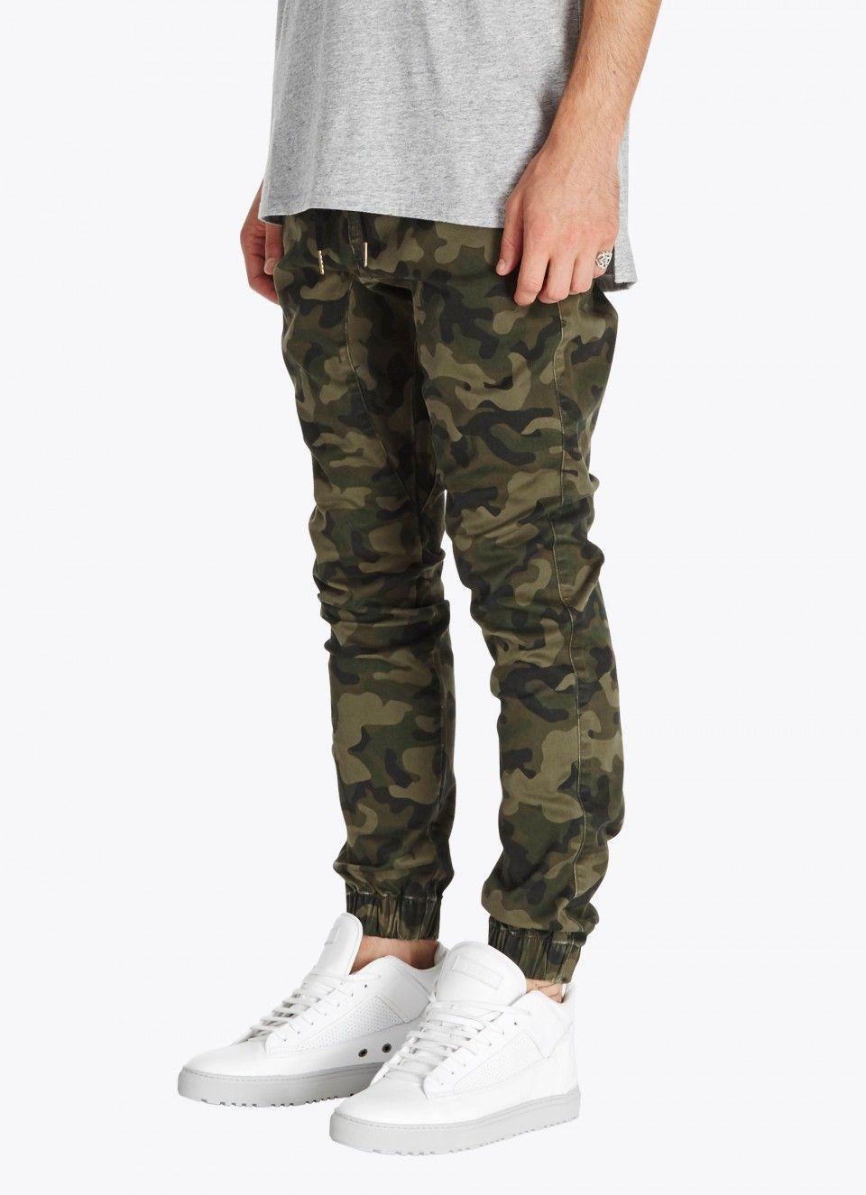 Sureshot jogger dark camo joggers zanerobe jogger pants