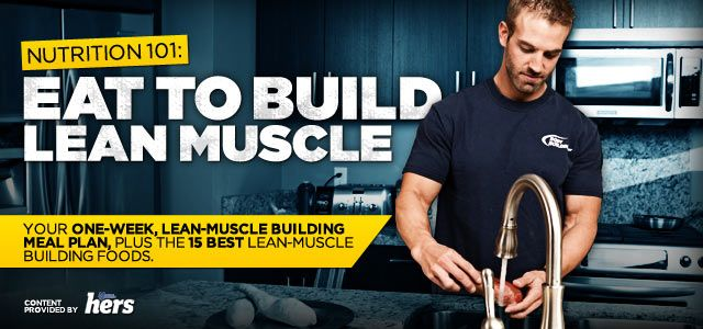 how to eat healthy and build lean muscle