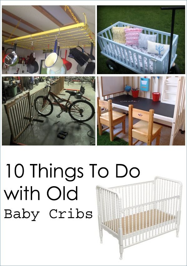 Do It Yourself Home Design: 10 Things To Do With Old Baby Cribs
