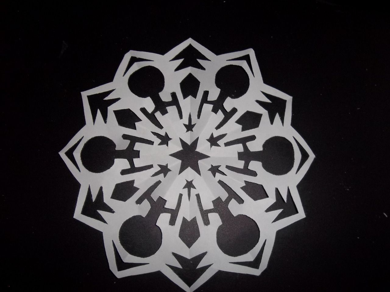 A Star Trek Snowflake Credit To Some Random Tumblr Fiction