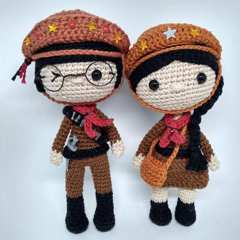 Onde Encontrar Receitas de Amigurumi Gratuitas | Bonecas de crochê ... | 768x768