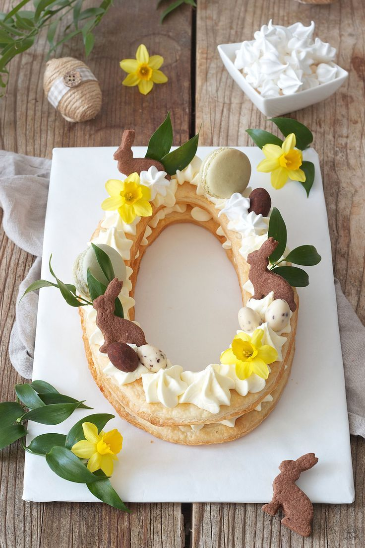 Photo of Letter Cake Ostertorte – Rezept – Sweets & Lifestyle®