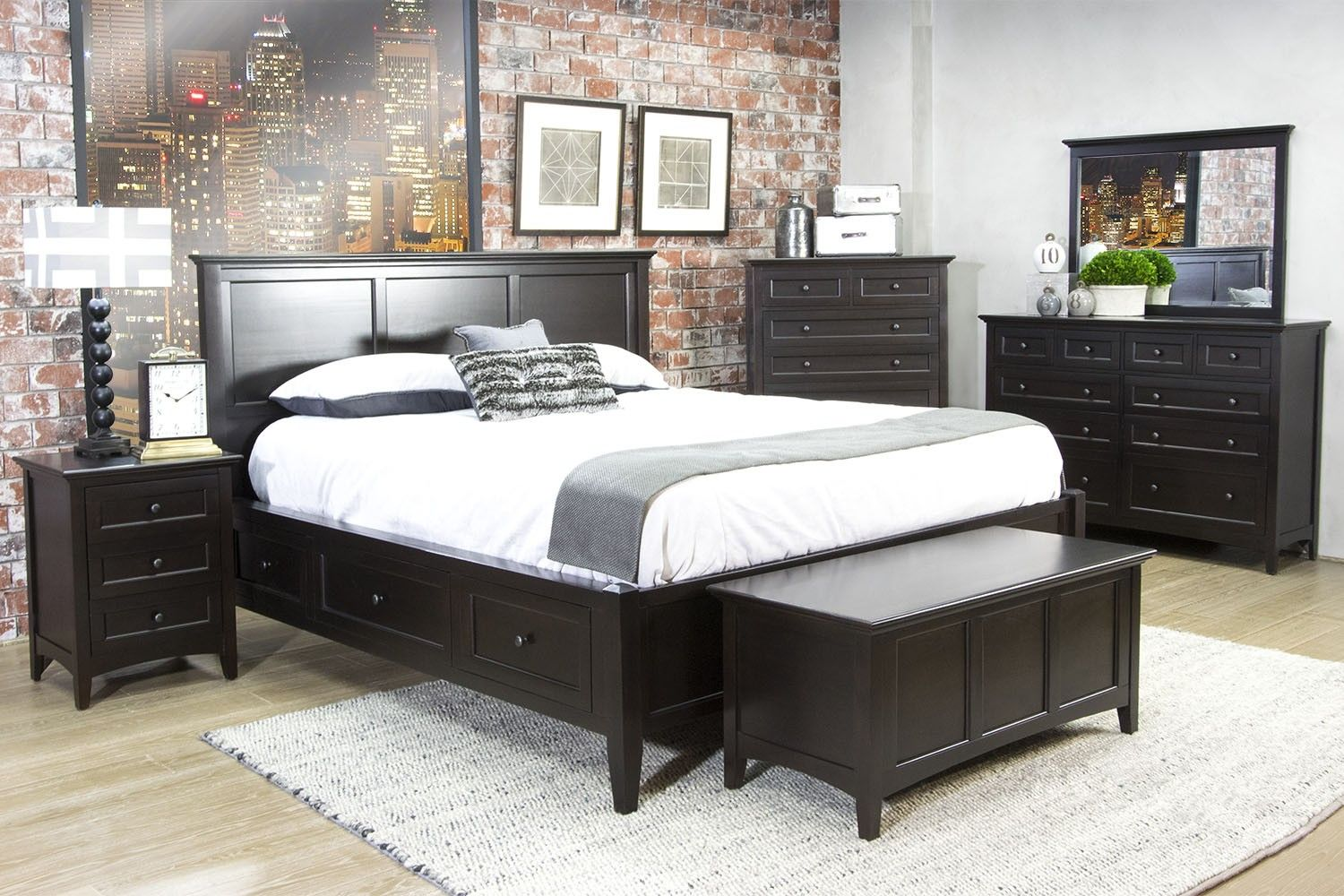 bedroom sets furniture mor media image the for set less product collection meadow