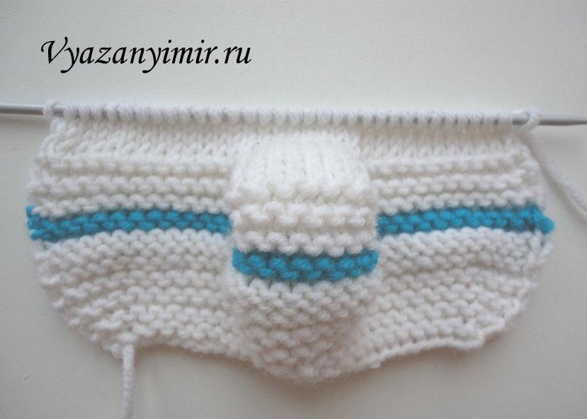как вязать пинетки спицами схема вязание детское вязание
