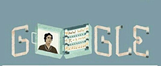 121 aniversario del nacimiento de Ángela Ruiz Robles, precursora del libro electrónico.