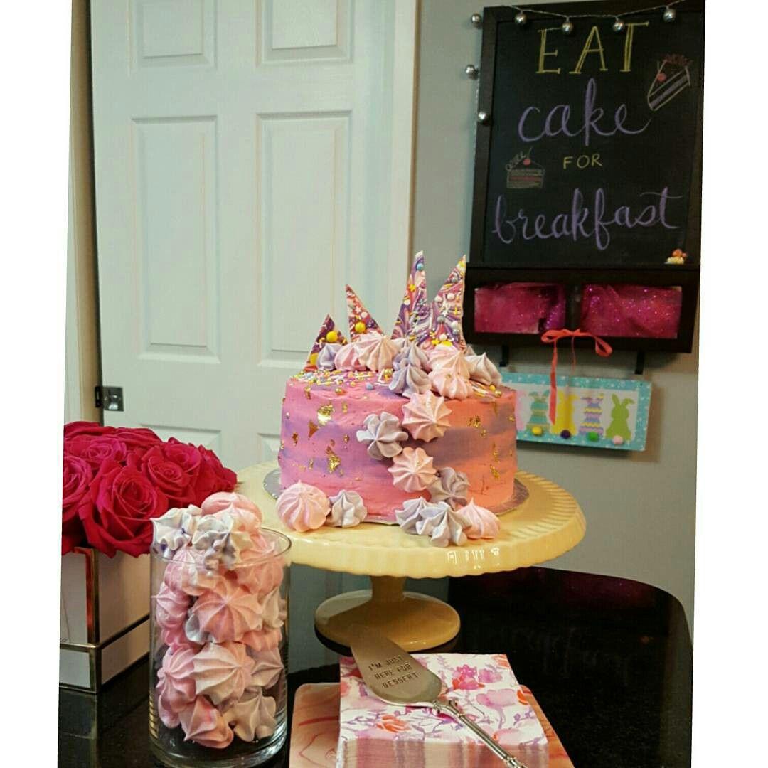 Eat Cake For Breakfast Birthday Cake My Baking Pinterest Eat