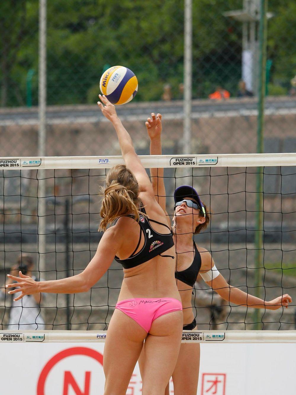 Taylor Pishcke Beach Volleyball Swimwear Workout