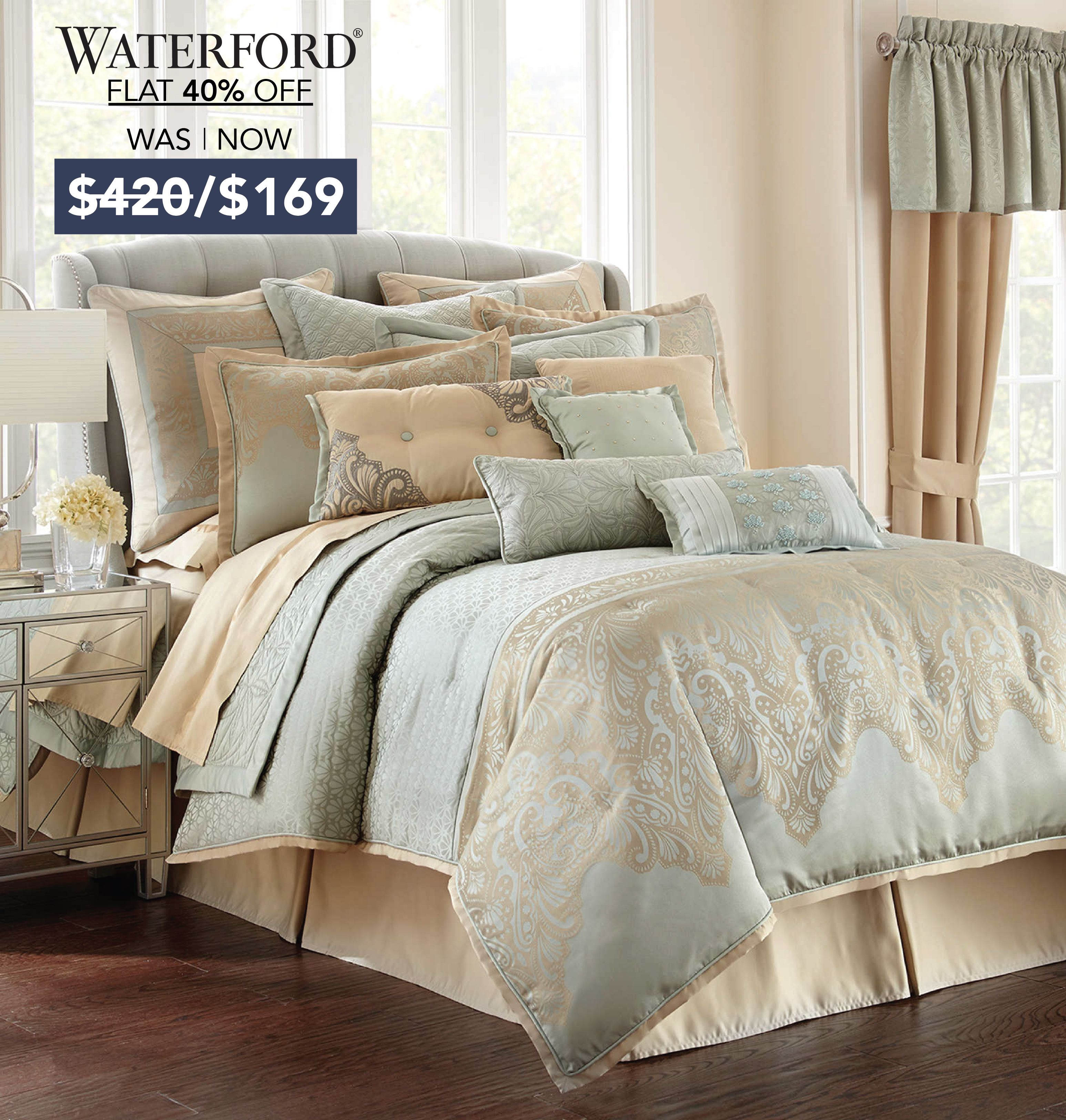 Waterford Luxury Bedding With Price Discount Luxury Bedding