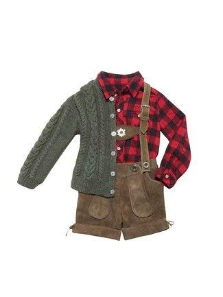 burda style, Schnittmuster, Tracht für Kinder - Lederhose mit Latz ...
