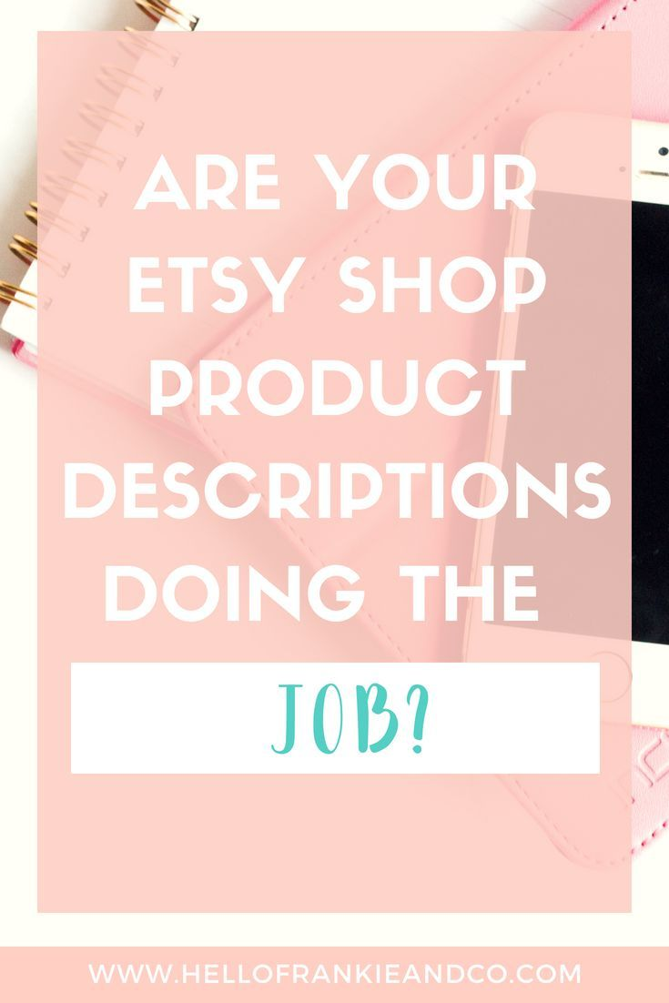 An easy way to write etsy product descriptions that sell