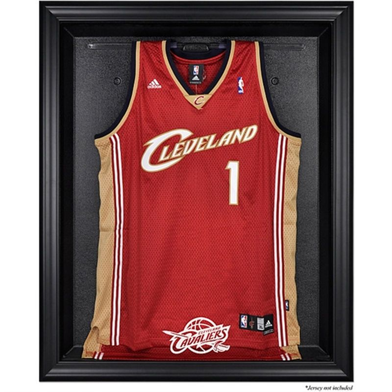 4c39736f895 Cleveland Cavaliers Fanatics Authentic Black Framed Team Logo Jersey  Display Case