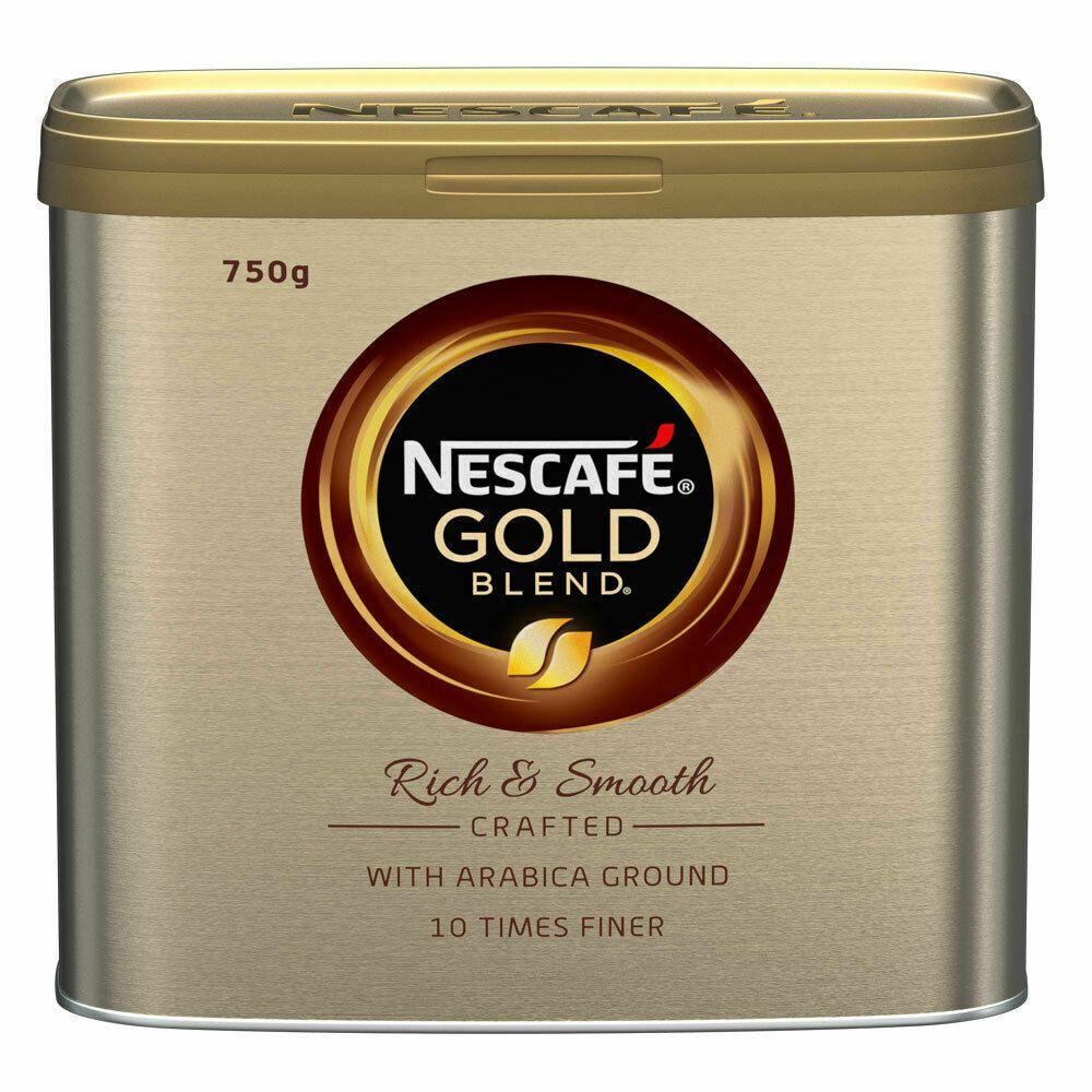 Details about NESCAFÉ Gold Blend Instant Coffee Tin 750g