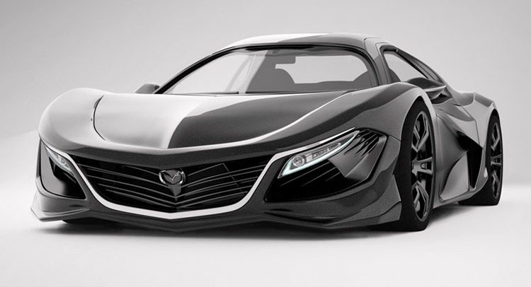 Here's a 2018 #Mazda RX9 mid-engine design concept. Can you believe we're already talking about 2018 cars?