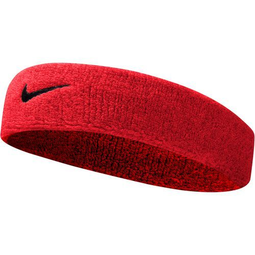 ... Nike Adults Swoosh Headband Red Dark Red - Basketball Accessories at  Academy Sports ... 21817fbd534