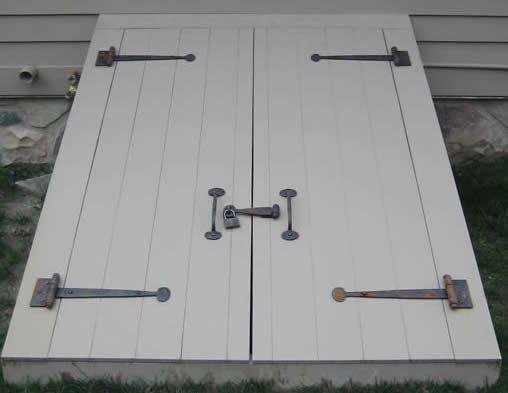 Cellar Door & Cellar Door | Blacksmithing | Pinterest | Doors Basements and ...