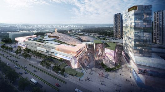 Gallery Of Summer International Shopping Mall 10 Design 8 Shopping Mall Architecture Architecture Design Architecture