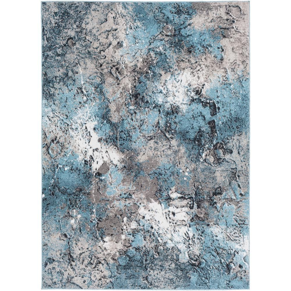 Artistic Weavers Lyra Aqua 7 Ft 10 In X 10 Ft 3 In Abstract