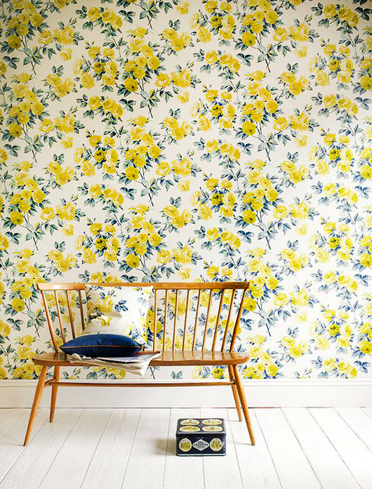 Decorating With Botanical Wallpaper: 31 Beautiful Ideas | homestyle ...