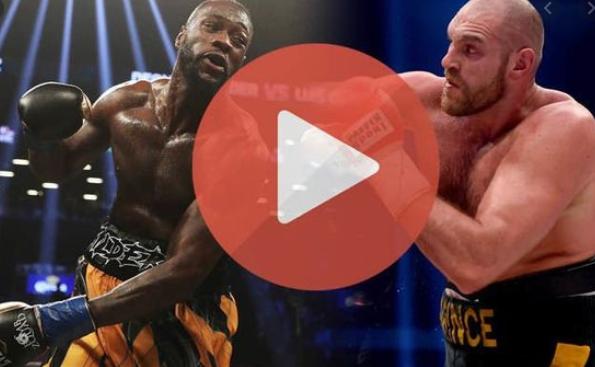 Live'STREAM Tyson Fury vs Deontay Wilder, tysonfury