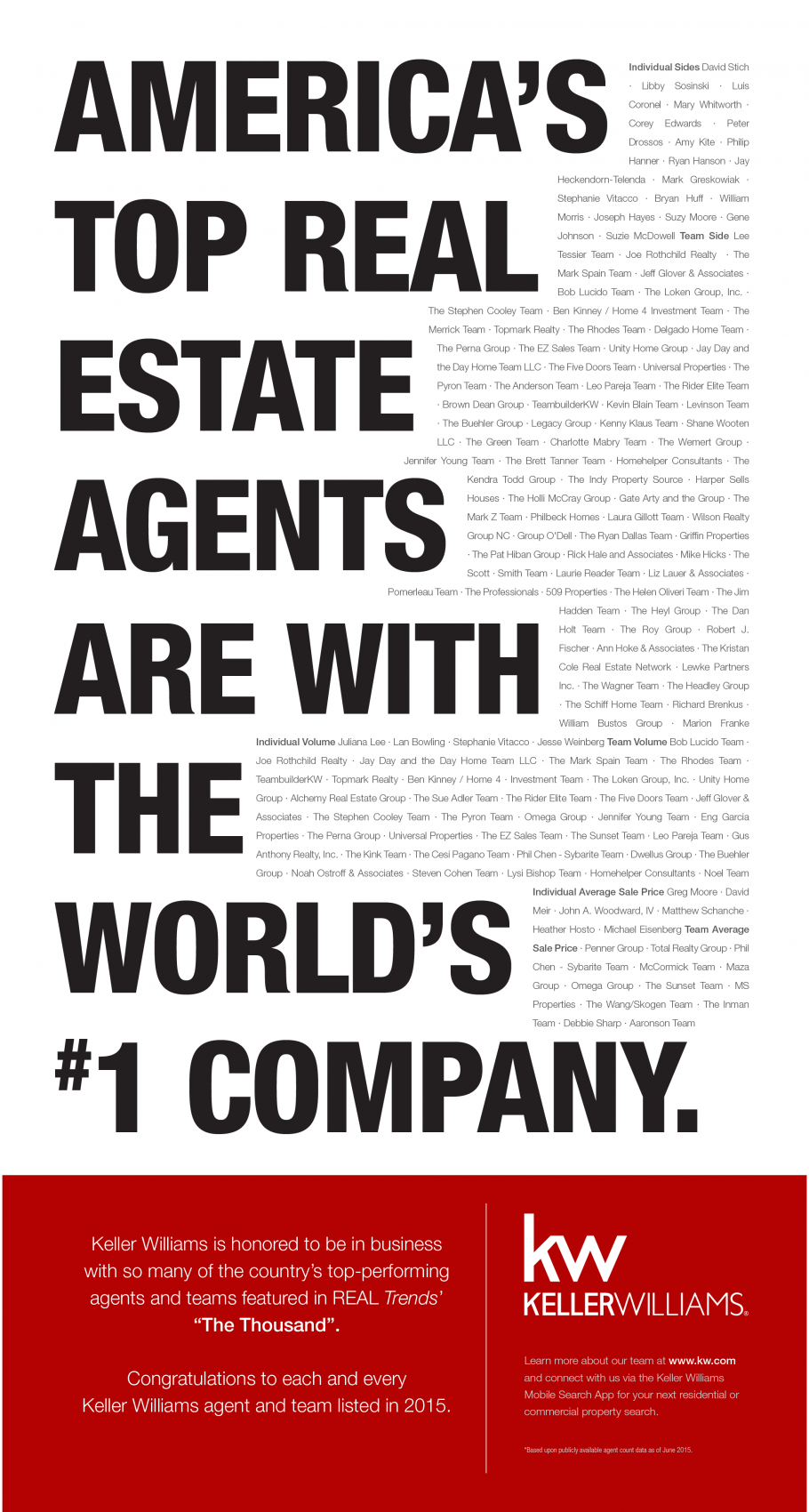 For more like this follow my facebook page httpsfacebook keller williams realty has more top agent teams ranked by transaction than any other real estate franchise listed in the 2015 real trends the thousand magicingreecefo Choice Image