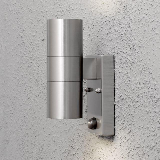 Brandneu LED Wandleuchte Premium mit Bewegungsmelder, Außenleuchte, 2  BX71