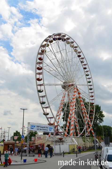 Kieler Woche 2013 - Anfang der Kiellinie, das Riesenrad