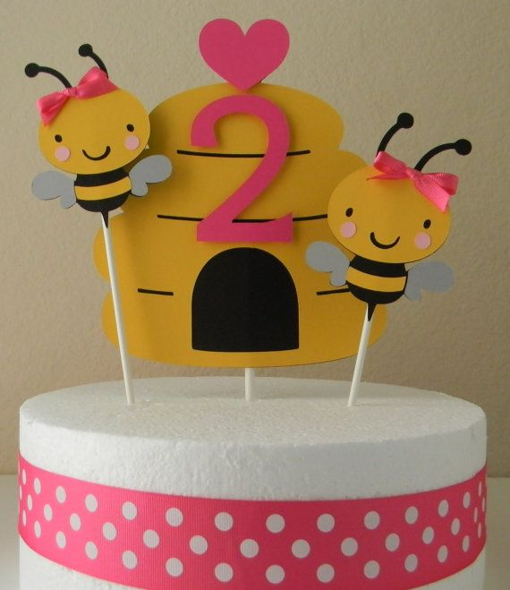 Bumble Bee Party with a hint of hot pink - adorable!