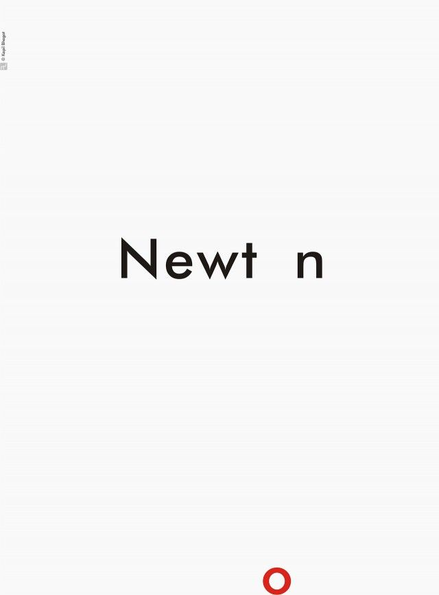 Scientists Minimalist Posters - Newton #graphicdesign #minimalist