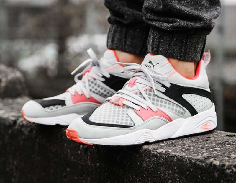 Puma Blaze Of Glory Crackle (GreyPink) | Sneakers, Basket