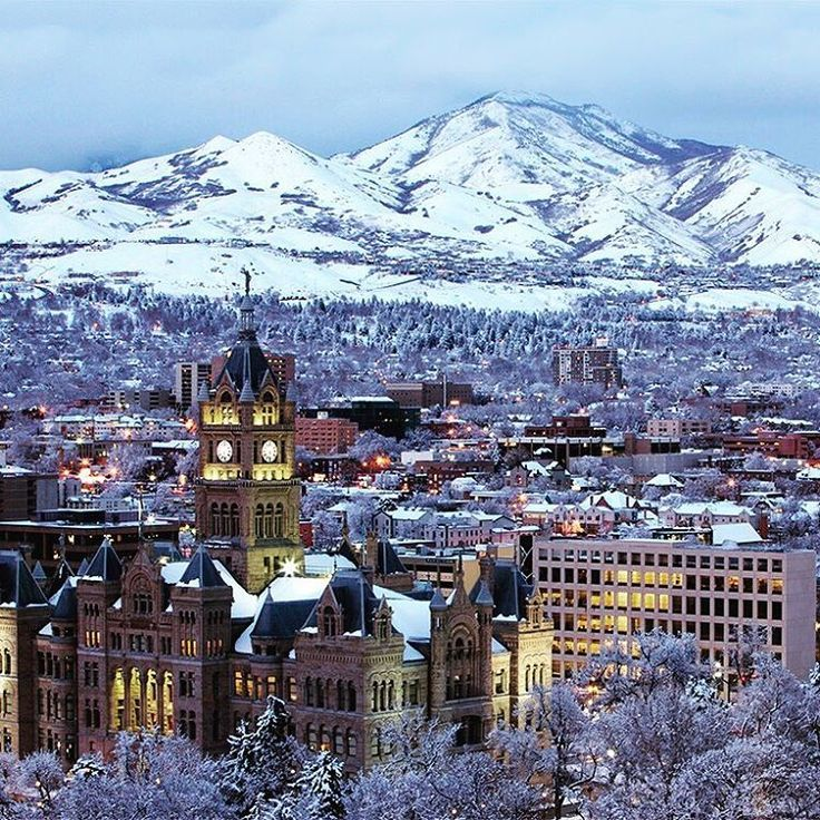 Salt Lake City Utah Houses: Salt Lake City Utah, Winter Weekend