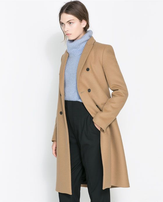 c5607ad5 Image 2 of MASCULINE DOUBLE BREASTED COAT from Zara   My Style in ...