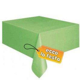 Tovaglia in Plastica Lime 137x274cm