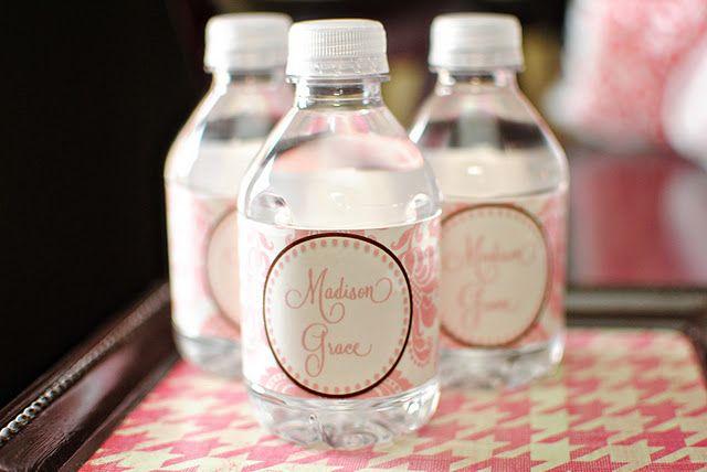 Diy Printable Water Bottle Labels Diy Water Bottle Labels Water Bottle Labels Template Printable Water Bottle Labels