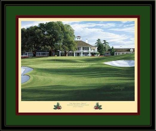 Holly Augusta 18th Hole Framed Golf Art Print | Golf | Pinterest ...