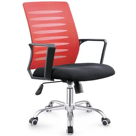 China Manual Work Best Office Chair Under 200 Fashionable Fabric Por Staff Computer Seating 1