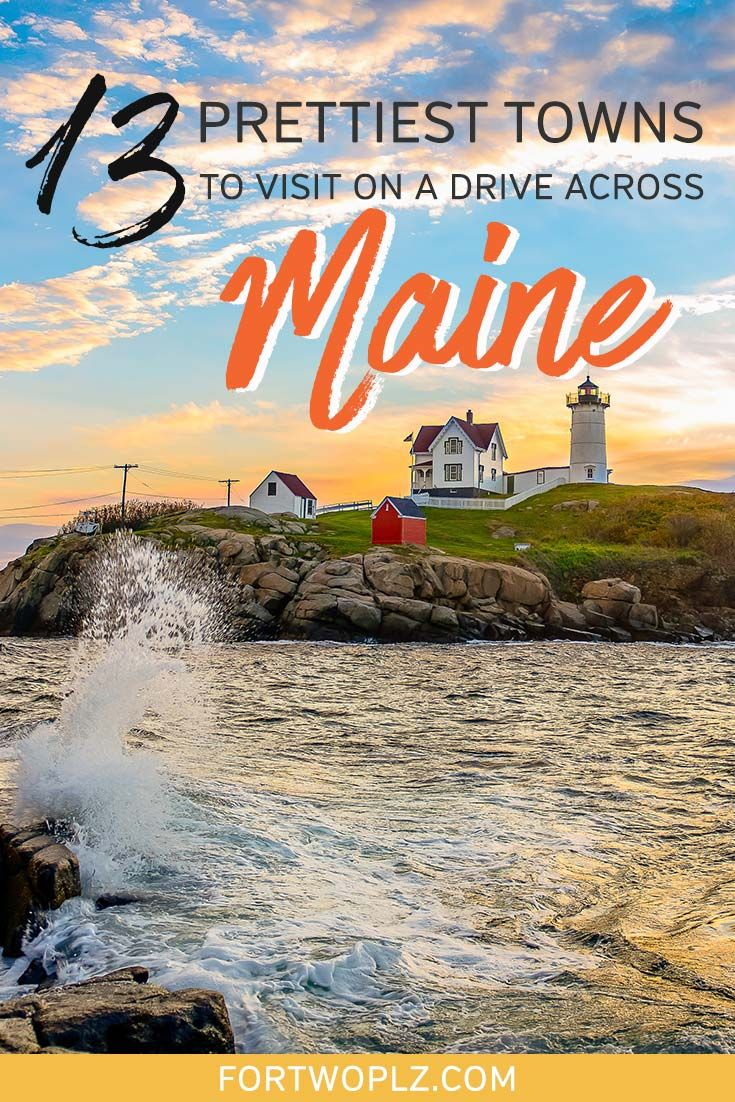 From Portland Maine to Bar Harbor: 13 Coastal Maine Towns You Must Visit -   19 holiday Destinations usa ideas